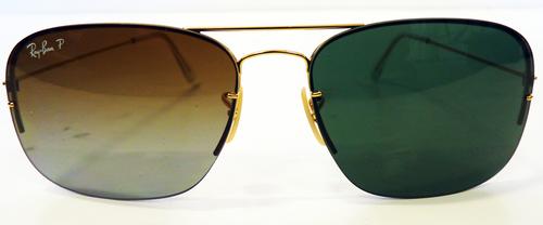 Ray-Ban Changeable Lens Set Retro Mod Sunglasses