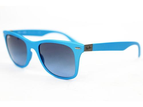 RAY-BAN TECH SUNGLASSES LITE WAYFARER AZURE