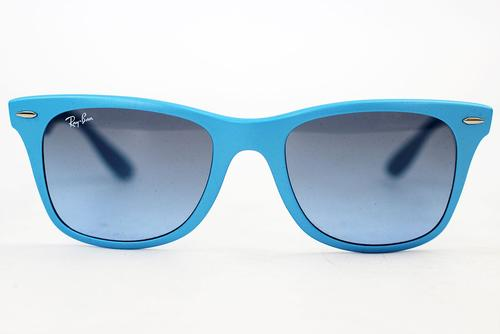 Ray-Ban Tech Coloured Liteforce Wayfarers (Azure)