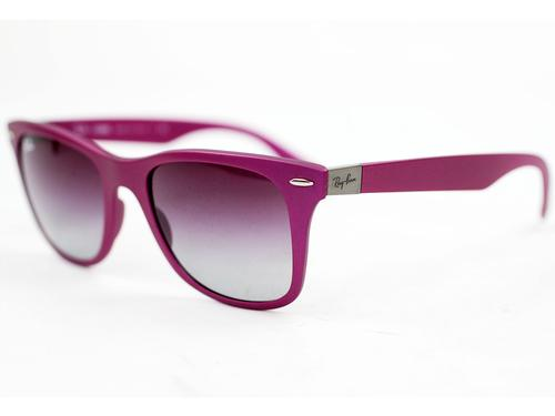 RAY-BAN TECH SUNGLASSES LITE WAYFARER VIOLET