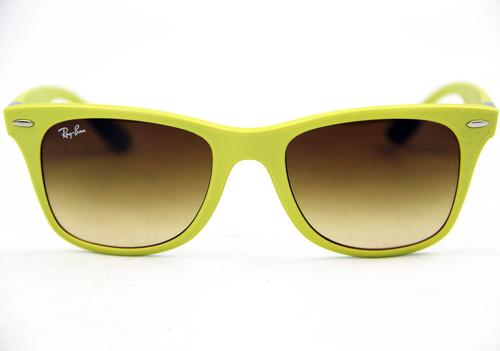 Ray-Ban Tech Coloured Liteforce Wayfarers (Yellow)