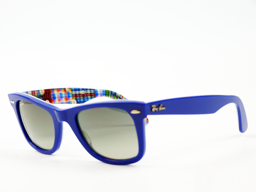 ray ban wayfarer sunglasses blue