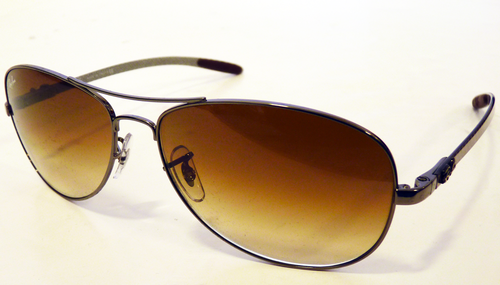 b5fda56adf ... where can i buy ray ban tech carbon fibre retro sunglasses brown 526e3  f17b4