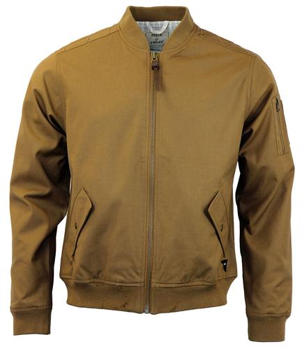 Calshot REALM & EMPIRE Mod Canvas Bomber Jacket