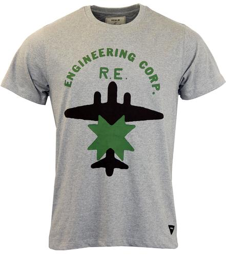 REALM AND EMPIRE RETRO ENGINEERING CORPS TEE