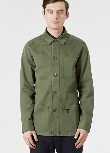 REALM AND EMPIRE RETRO MOD FLASH POCKET SHIRT