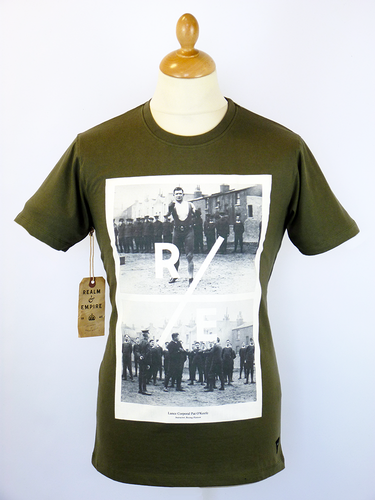 Pat O'Keefe REALM & EMPIRE Retro WW1 Photo Tee