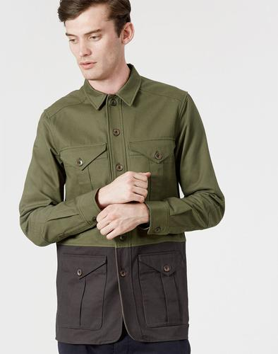 REALM AND EMPIRE RETRO MOD ARMY UTILITY SHIRT