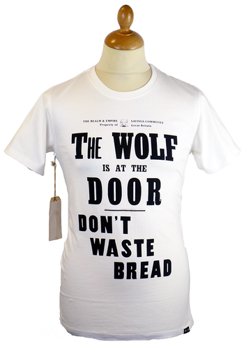 The Wolf REALM & EMPIRE WWI Vintage Poster Tee