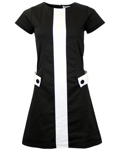 The Rebel Kind MADCAP ENGLAND 60s Mod Mini Dress