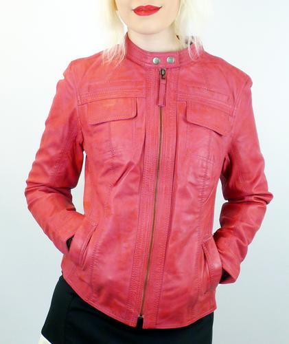 Casino MADCAP ENGLAND Retro 70s Leather Jacket P