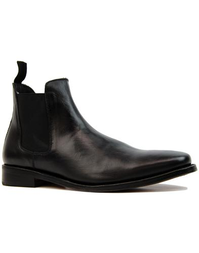 Sloane 60s Mod Goodyear Welt Leather Chelsea Boots