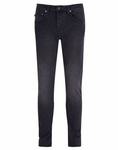 Rui LUKE 1977 Retro Skinny Fit Black Denim Jeans