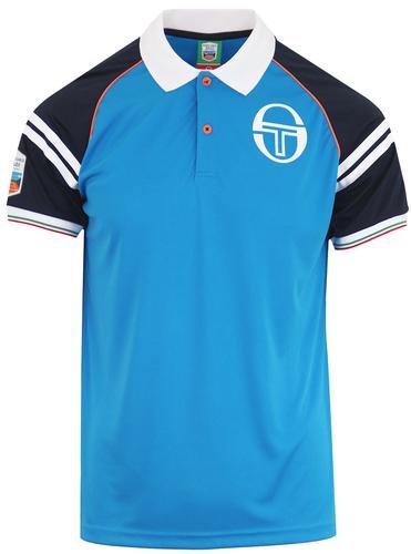 f8026ce73 SERGIO TACCHINI Men's Retro Monte Carlo Tennis Polo Top