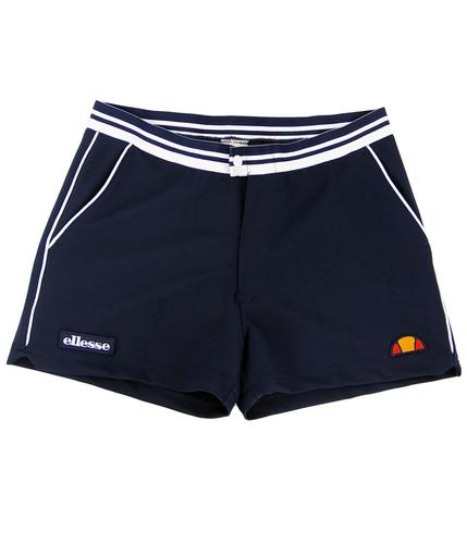 ELLESSE TORTORETO RETRO 1970s TENNIS SHORTS BLUE