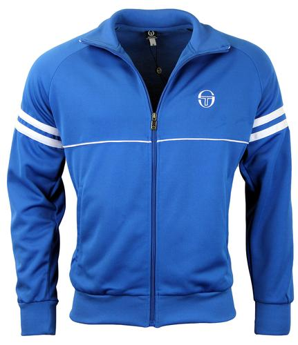 sergio tacchini nord star retro 80s indie track jacket in. Black Bedroom Furniture Sets. Home Design Ideas