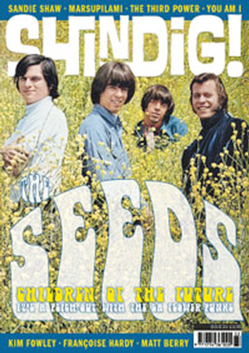SHINDIG MAGAZINE THE SEEDS MOD 60s MUSIC MAG