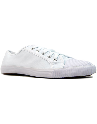 Spike - Retro Old Skool Canvas Indie Trainers (W)