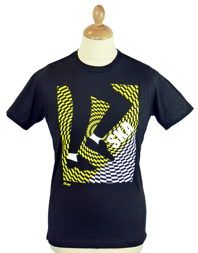 Dancing Feet STOMP Retro Mod Ska Graphic T-Shirt