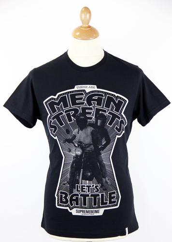 Mean Streets SUPREMEBEING Retro 70s Graphic Tee