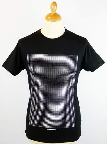 Doticon SUPREMEBEING Indie Optical Illusion Tee