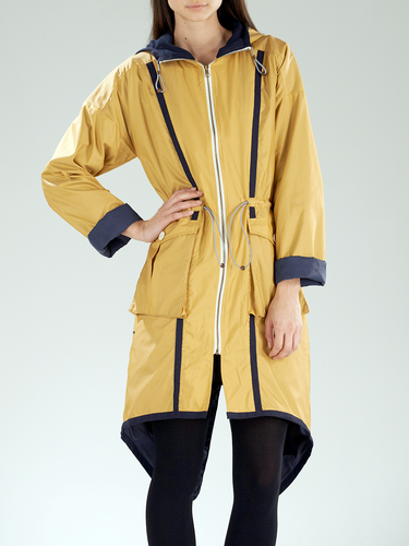 SUPREMEBEING RETRO MOD 70S FISHTAIL PARKA SEASPRAY