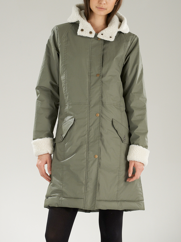 SUPREMEBEING RETRO MOD WOMENS PARKA COAT
