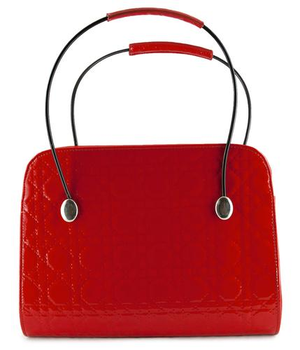 Audrey Tatyana Retro 50s Diamond Stitch Handbag R