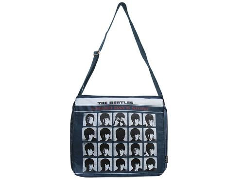 BEATLES BAGS RETRO HARD DAYS NIGHT SATCHEL BAG