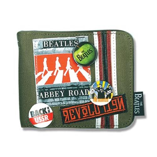 Abbey Road BEATLES Retro 60s Canvas Wallet