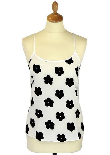 Quaint Quant TRAFFIC PEOPLE Mod Daisy Camisole Top