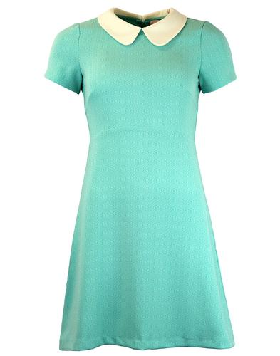 Perfect Penny TRAFFIC PEOPLE 60s Mod Texture Dress