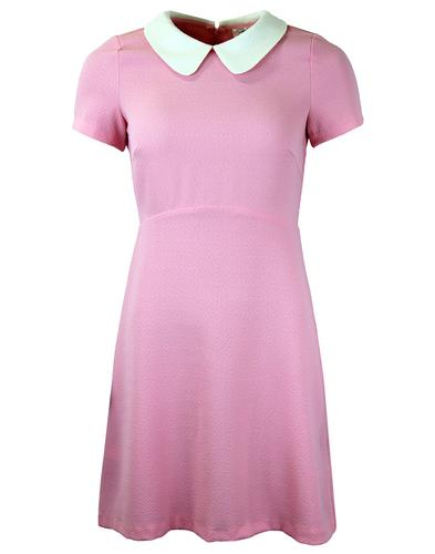TRAFFIC PEOPLE RETRO MOD 60s PETER PAN DRESS