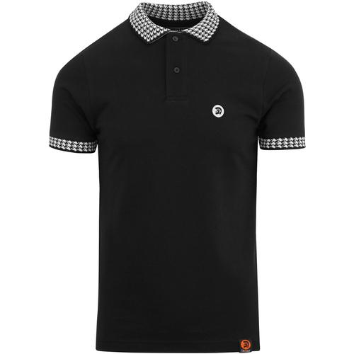 TROJAN RECORDS Retro Ska Dogtooth Trim Polo B