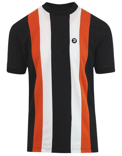 TROJAN RECORDS Retro Mod Chest Panel Pique Tee (B)