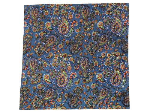 TUKTUK RETRO MOD 60S POCKET SQUARE PAISLEY