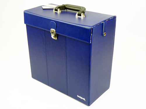 33rpm TukTuk Retro Sixties Mod Record Box (Blue)