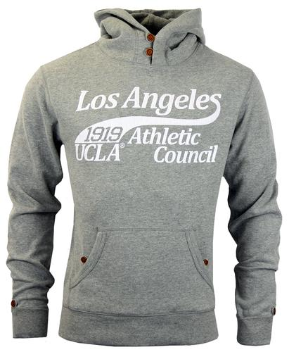 UCLA RETRO MOD MENS 70s HOODED SWEATER