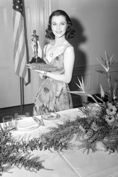 Vivien Leigh at the Oscars in 1940
