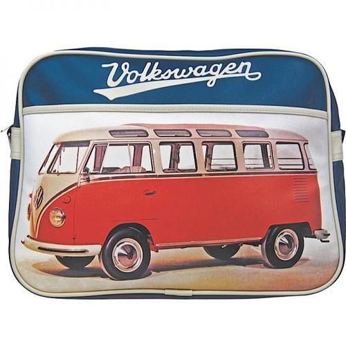 RETRO 70s VOLKSWAGEN CAMPER VAN BAG RED