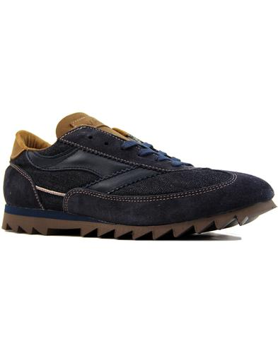 Pennine Adder WALSH Made In England Denim Trainers