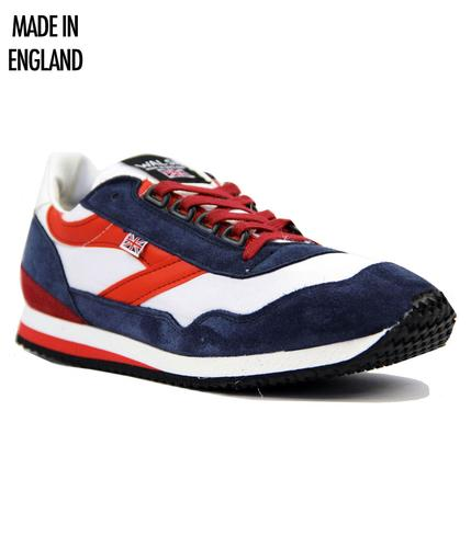 Ensign NORMAN WALSH Made In England Trainers WNR