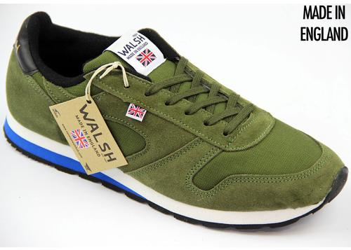 WALSH TRAINERS SEOUL 88 RETRO TRAINERS GREEN