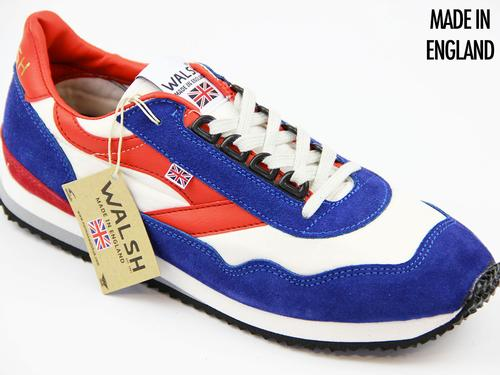 WALSH TRAINERS ENSIGN RETRO TRAINERS 70S RWB