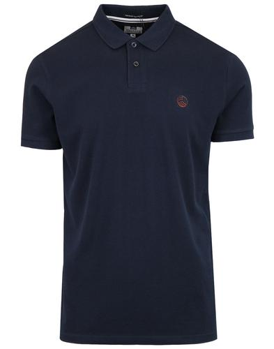 Oates WEEKEND OFFENDER Retro AMF Football Polo Top