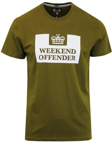 WEEKEND OFFENDER Retro Casuals Prison T-shirt (O)