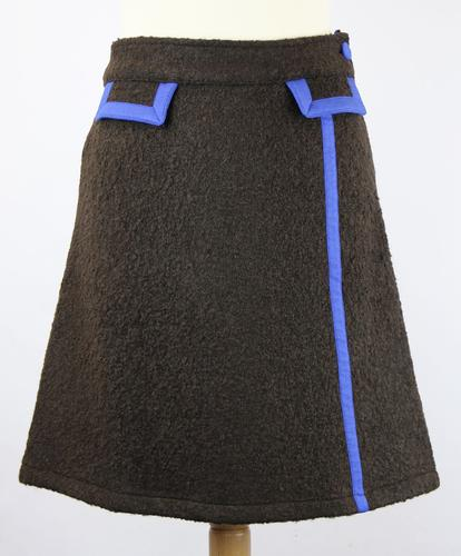 WOW TO GO RETRO 60s A LINE MOD SKIRT