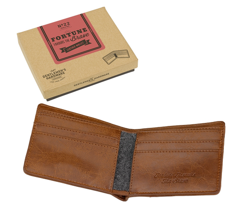 Fortune Favours... Gentleman's Hardware Wallet