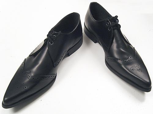 Vintage Leather Winkle Picker Shoes