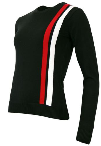 MADCAP ENGLAND RETRO MOD WOMENS RACING JUMPER